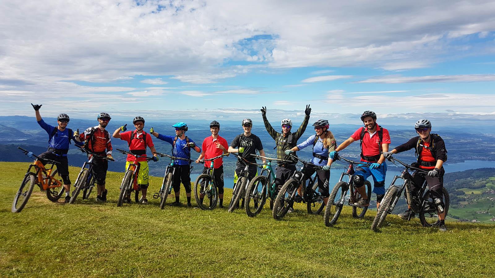 IG Mountainbike Zug Vorstand